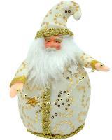 Textilný Santa Claus, 18cm_1