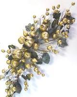 Vianočná girlanda zlatá_1