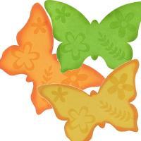 Dekoratívny motýľ z filcu, 37cm_1