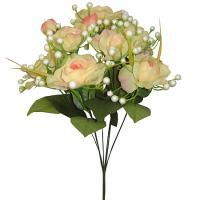 Umelá kytica z ruží, 39cm_1