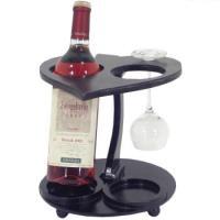 Drevený stojan na víno / 2 fľaše_1