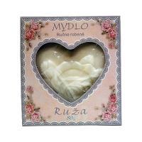 Ručne vyrobené mydlo - ruža_1