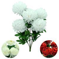 Umelá kytica chryzantéma, 60cm_1