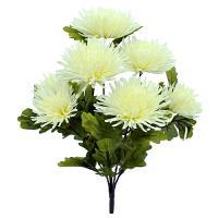 Umelá kytica chryzantéma, 51cm_1