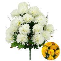 Umelá kytica chryzantéma, 48cm_1