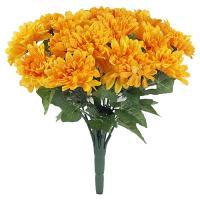 Umelá kytica chryzantéma, 38cm_1