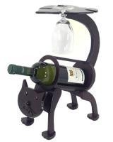 Drevený stojan na víno / 1fľaša_1
