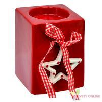 Vianočný svietnik s hviezdou, 10cm_1