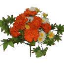 Umelá kytica z chryzantém, 37cm_1