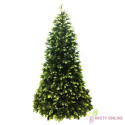 Umelý 3D vianočný stromček, 220 cm_1