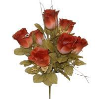 Umelá kytica z jesenných ruží, 37cm_1