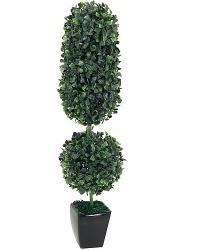 Umelý krušpánový stromček v kvetináči, 55cm_1