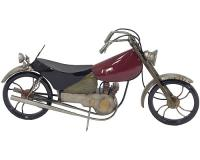 Kovová retro motorka, 49cm_1
