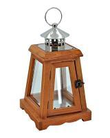 Drevený lampáš, 30cm_1