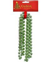 Guličková reťaz zelená, 270cm_1