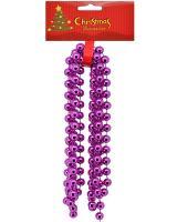 Guličková reťaz fialová, 270cm_1