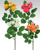 Ruže - v rôznych farbách, 37cm / 3ks_1