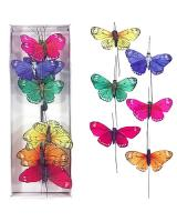 Motýle na zapichovanie, 5cm/12ks_1