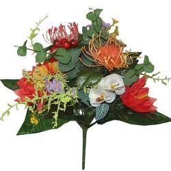 Umelá exotická kytica, 33cm_1