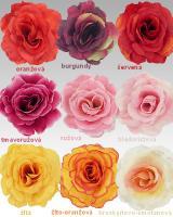 Hlavičky ruží, 13cm/18ks_1