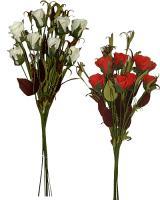 Kytice ruží, 43cm / 4ks_1
